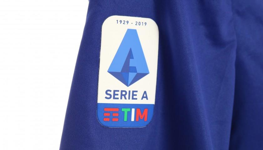Zaccagni's Match-Issued Shirt, Hellas Verona-Atalanta 2020