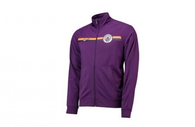 Player Issued Manchester City Nike Zip-up Jacket - M