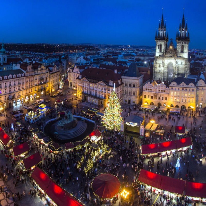 2 Night Christmas Market Experience in Prague for 2