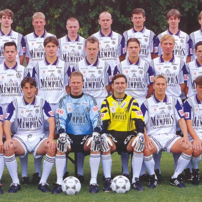 Austria Wien Match Shirt, 1997/98