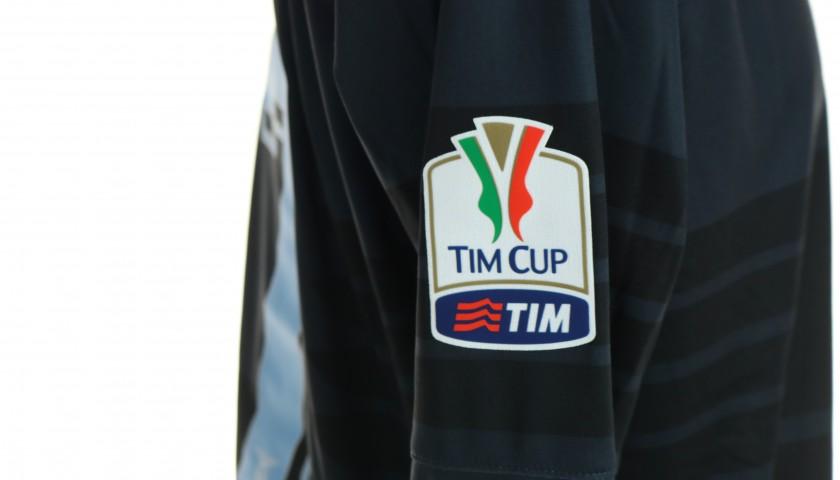 Candreva's Lazio Match Shirt, Tim Cup 2015/16