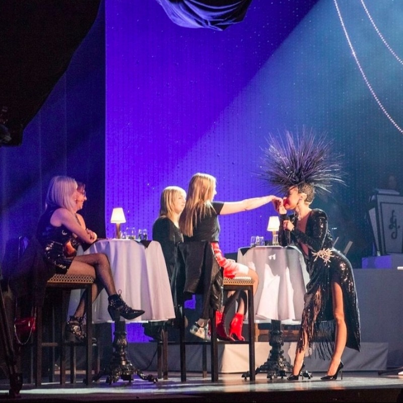 """Meet Lady Gaga and Sit On-Stage at her """"Jazz and Piano"""" Residency in Las Vegas"""