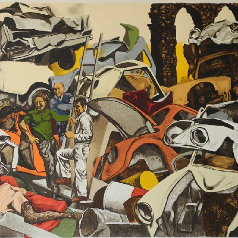 """Untitled"" by Renato Guttuso"