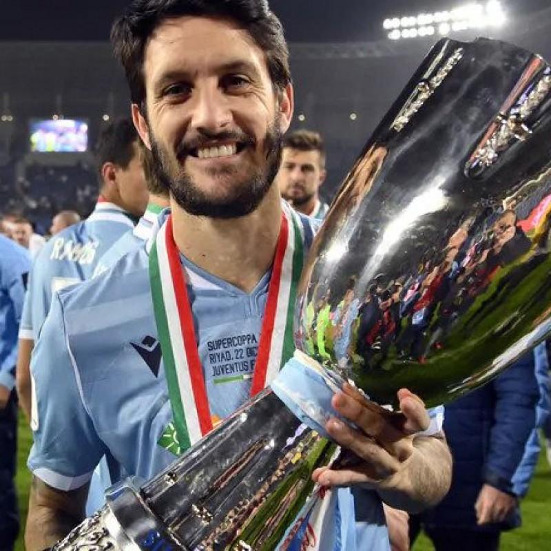 Luis Alberto's Lazio Match Shirt, Italian Super Cup 2019