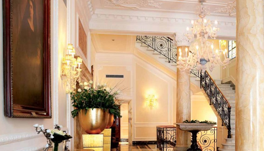 Luxury beauty & shopping day in London for men with Hotel Baglioni