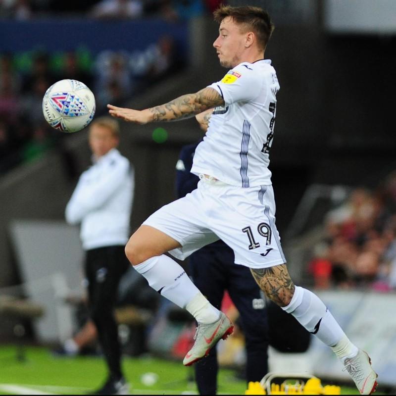 Mckay's Swansea City Worn Poppy Shirt
