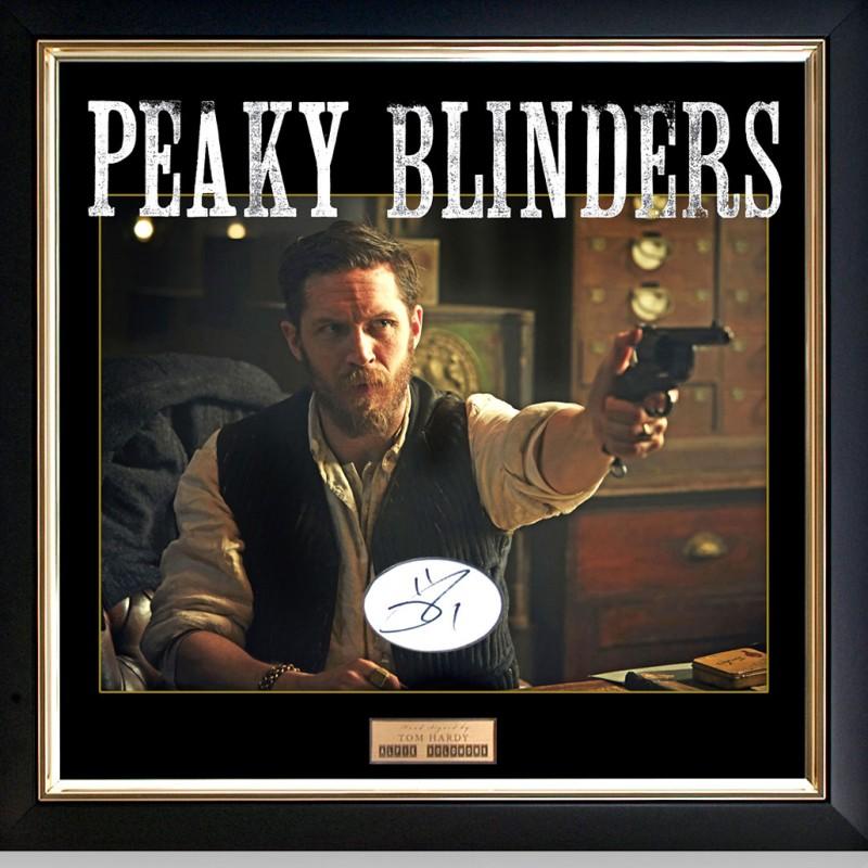 Tom Hardy Signed Alfie Solomons Peaky Blinders Presentation