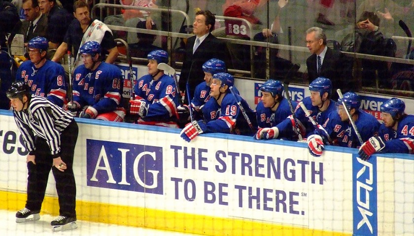 Club Tickets to the New York Rangers