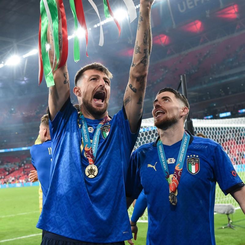 Acerbi's Match Shirt, Italy-England 2021
