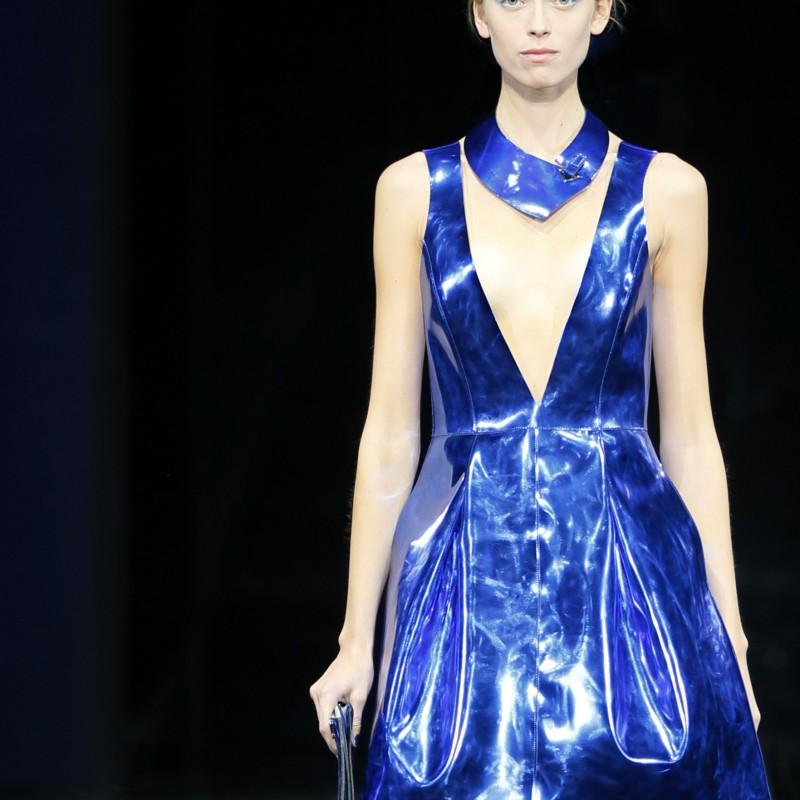 Attend the Emporio Armani Womenswear Show at Milan Fashion Week