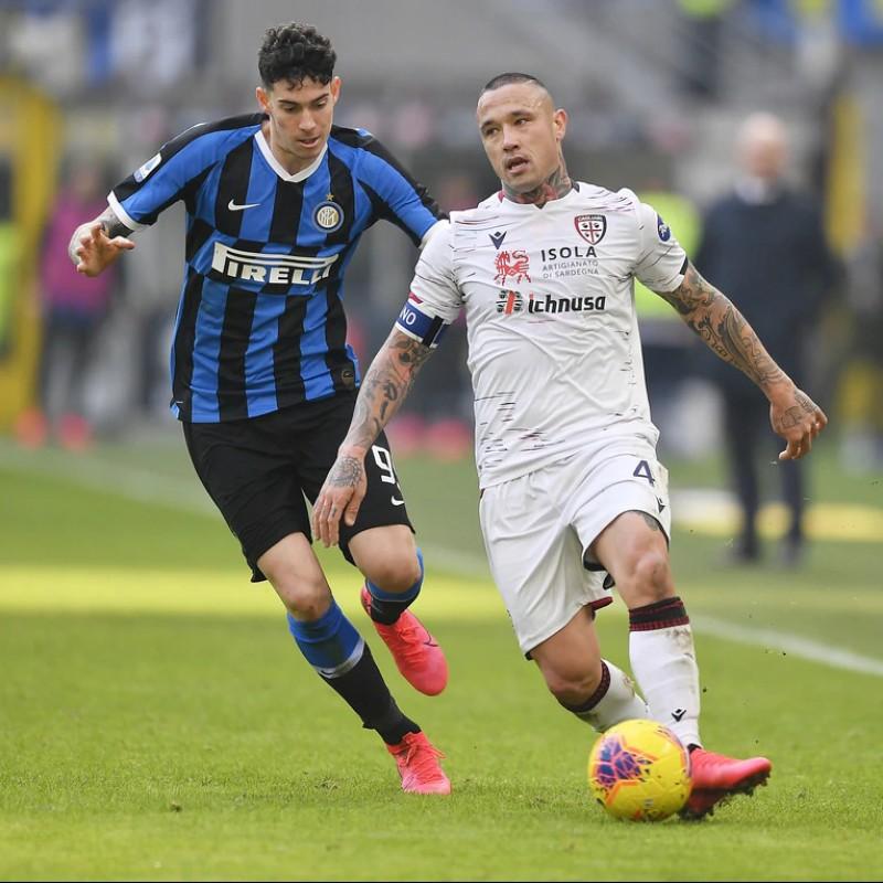 Nainggolan's Worn Shirt, Inter-Cagliari 2020