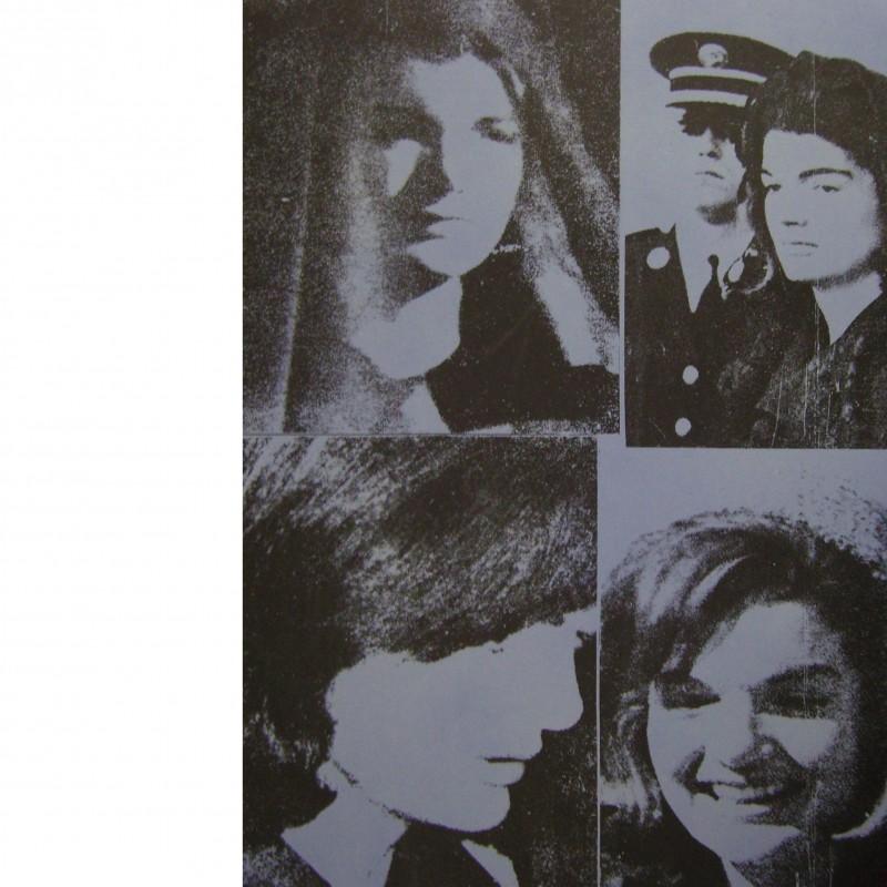 """""""Jacqueline Kennedy III (Jackie III)"""" Andy Warhol serigraphy, 1966"""