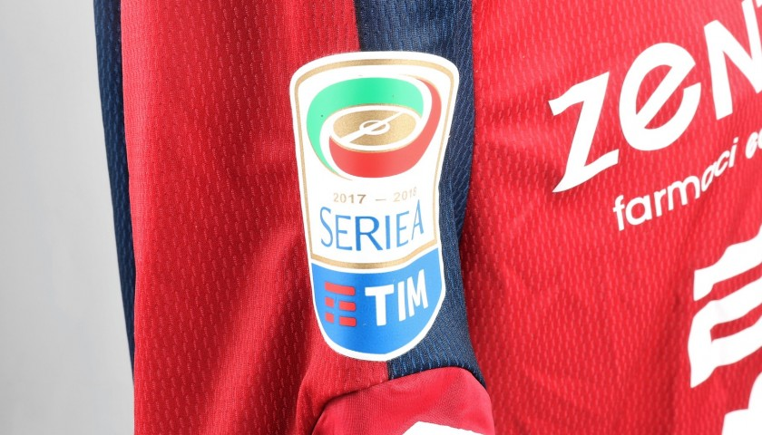Rossettini's UNWASHED Special Genoa-Sampdoria Match-Worn Shirt