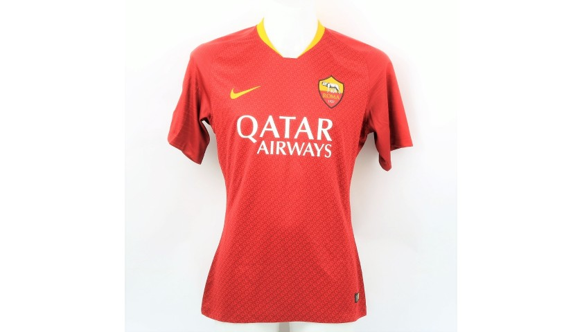 Kluivert's Official Roma Signed Shirt, 2018/19