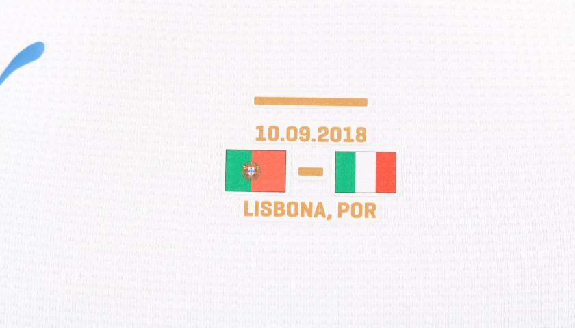 Insigne's Match-Issue /Worn Kit, Portugal-Italy 2018