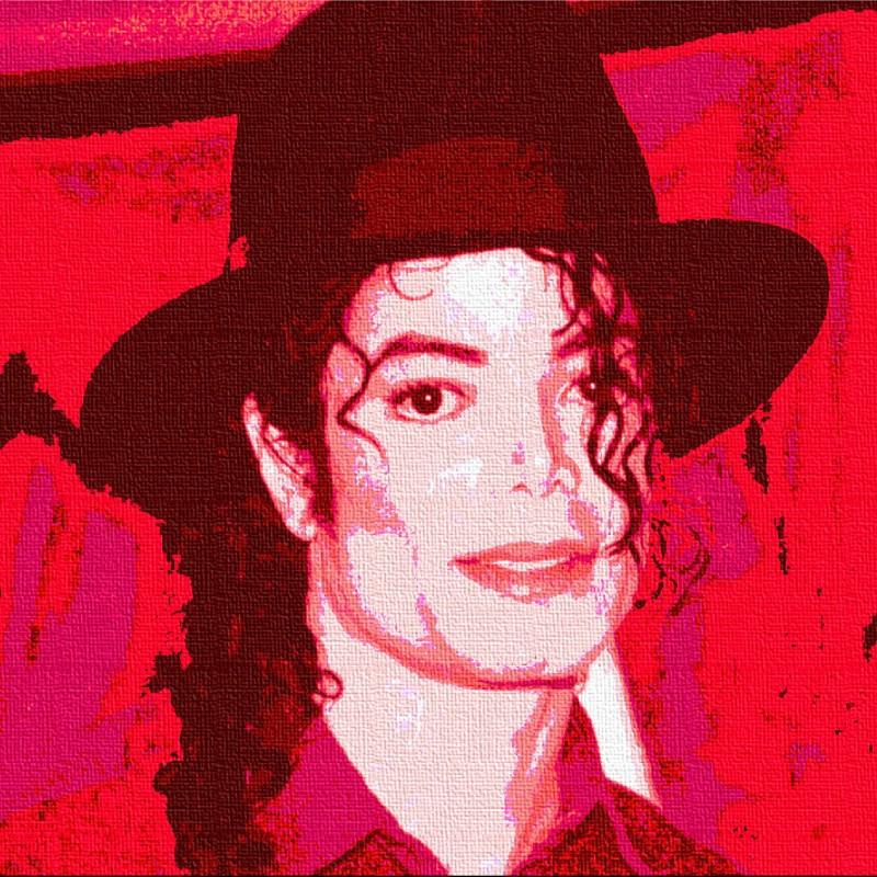 """Michael Jackson"" Original Board by Gabriele Salvatore"