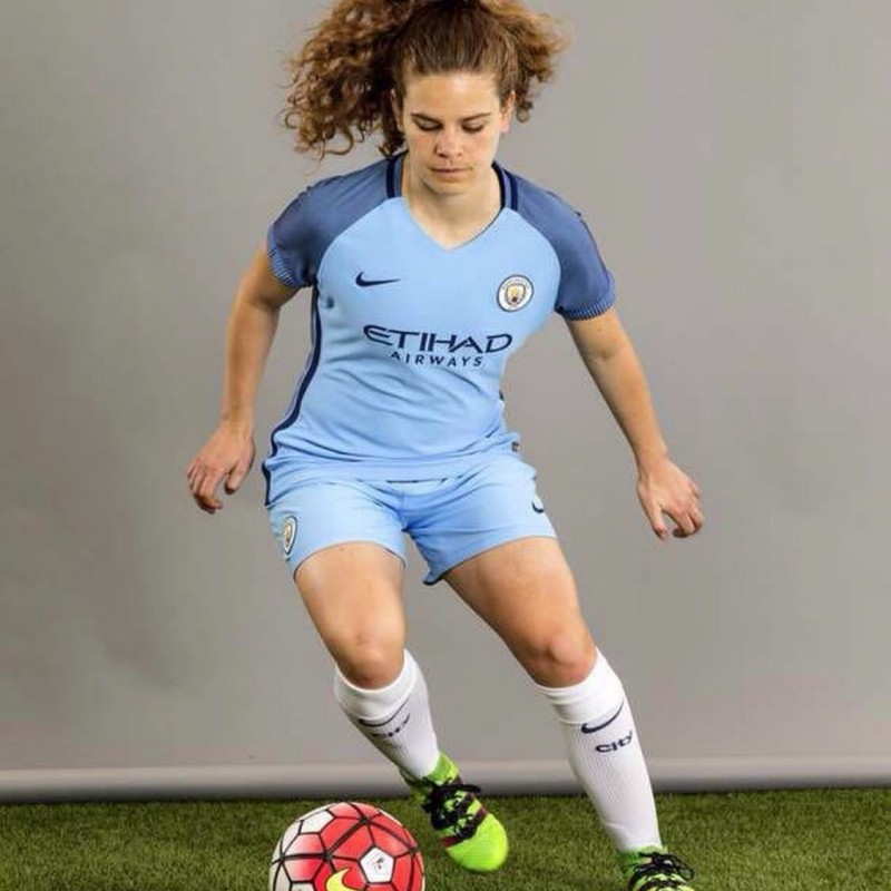 Official Manchester City WFC Shirt Signed by Daphne Corboz