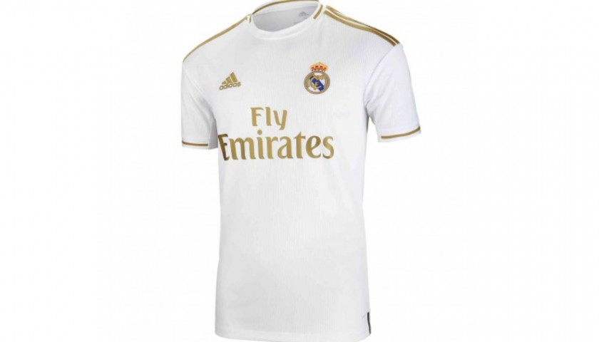 Official Real Madrid Shirt Signed by Marcelo, 2019/2020