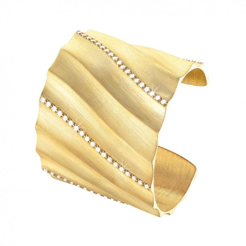 Stroili silver bracelet 'Tortiglione' - limited edition