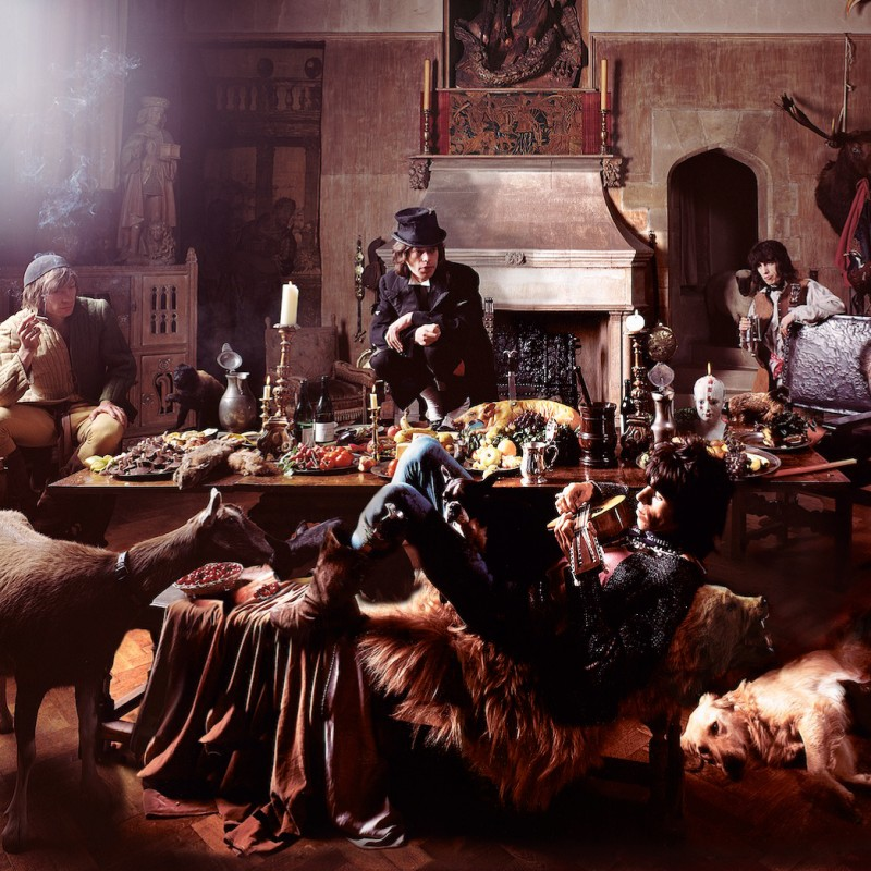 "The Rolling Stones, ""Beggars Banquet"" 1968 by Michael Joseph, Framed"