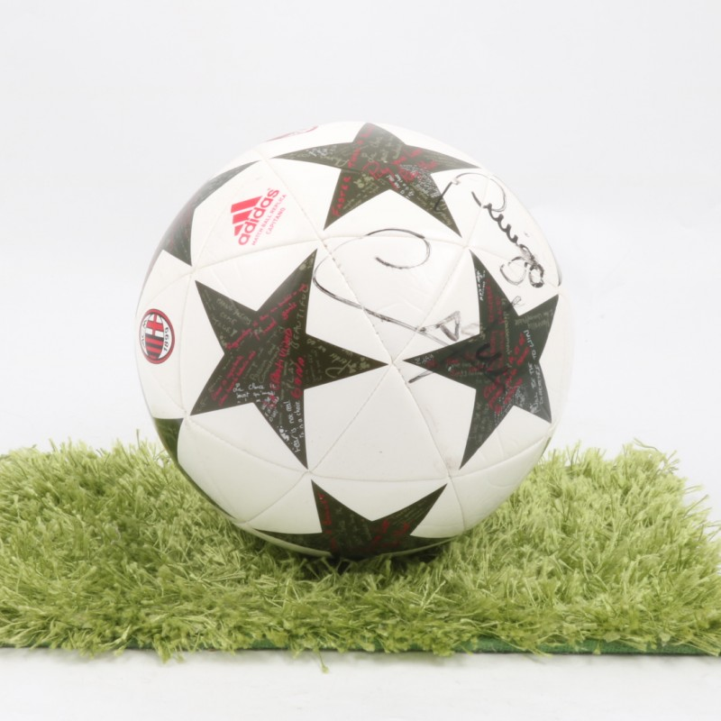 Official AC Milan Ball, Signed by Cafu