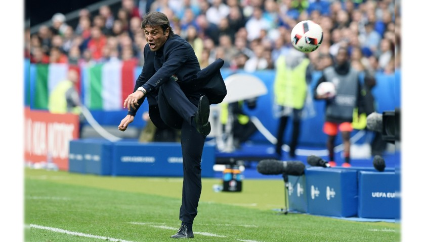 Antonio Conte's Italy National Football Team Shirt by Ermanno Scervino