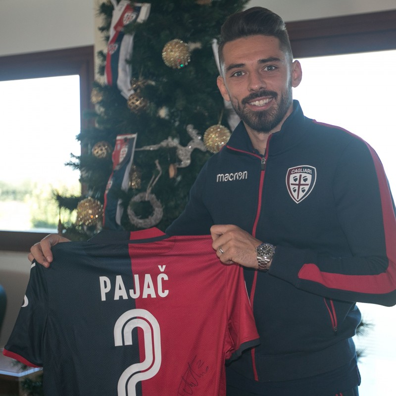 Cagliari Festive Shirt - Worn and Signed by Pajac
