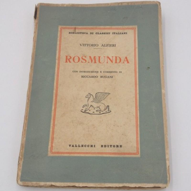 """""""Rosmunda"""" - Vittorio Alfieri (1937)"""