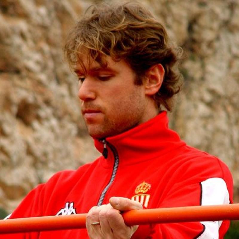 Raducioiu's Monaco Signed Match Shirt, 2001/02