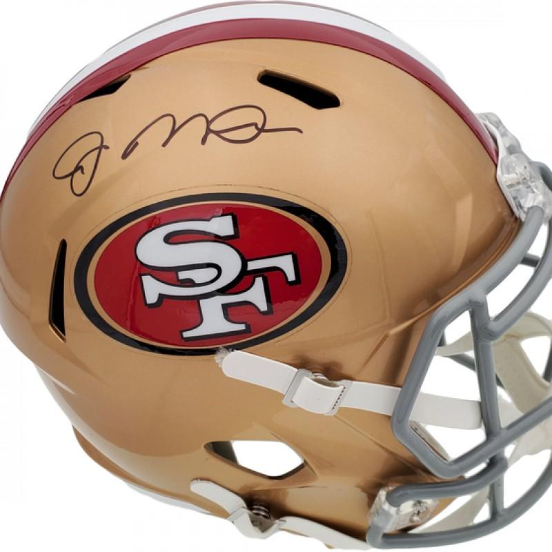 Joe Montana Signed Full-Size 49er's Helmet