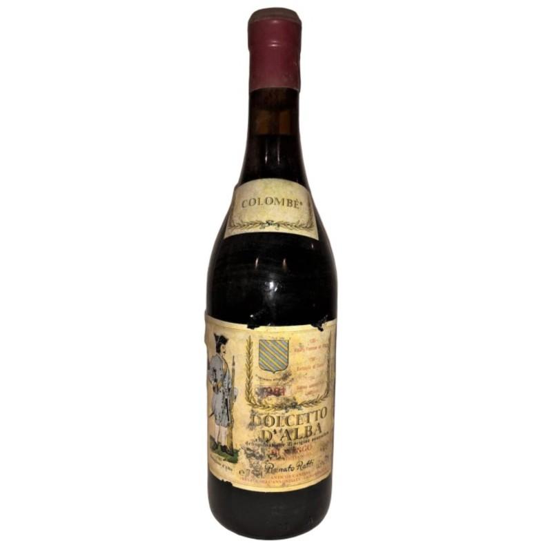 """Bottle of Dolcetto """"Colombé"""", 1981 - Renato Ratti"""