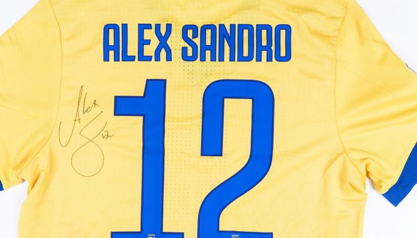 Alex Sandro's Match-Issued/Worn 2017/18 Juventus Shirt – Signed