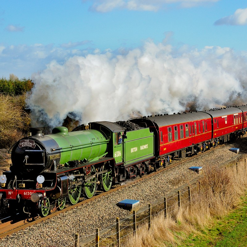 Voucher for a Day on a Steam-Hauled Train