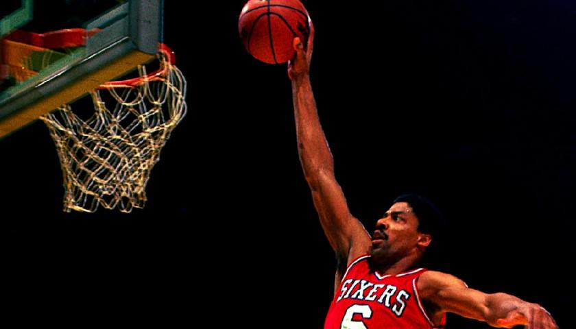 2f45ae29741a Philadelphia 76ers Custom Basketball Jersey Signed by Julius