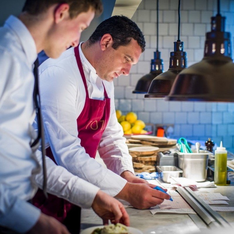 Private dinner at your home by famous chef Daniele Pampagnin