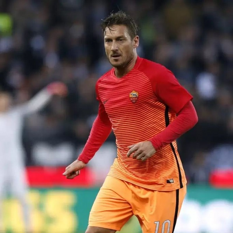 Totti's Roma Match Shirt, 2016/17 - Limited Edition Box