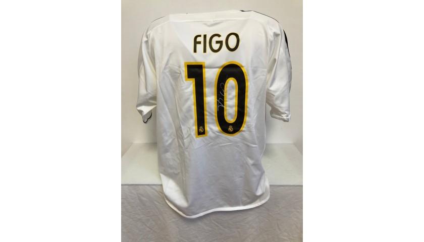 Figo's Official Real Madrid Signed Shirt, 2004/05