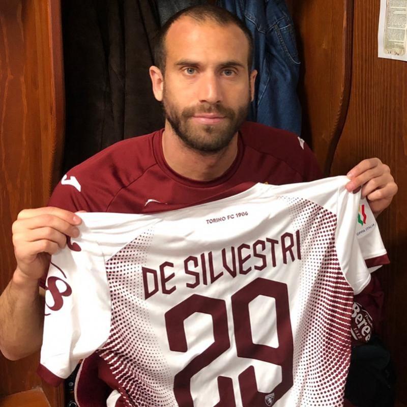 De Silvestri's Match-Issued Shirt, Milan-Torino 2020