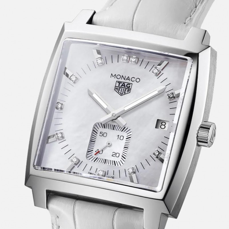 TAG Heuer Monaco Women's Quartz Luxury Watch