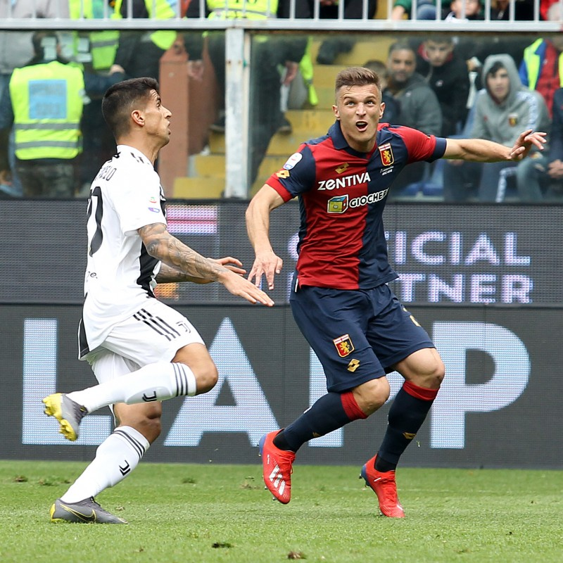 Shirt Worn by Lazovic for the Genoa-Juventus Match