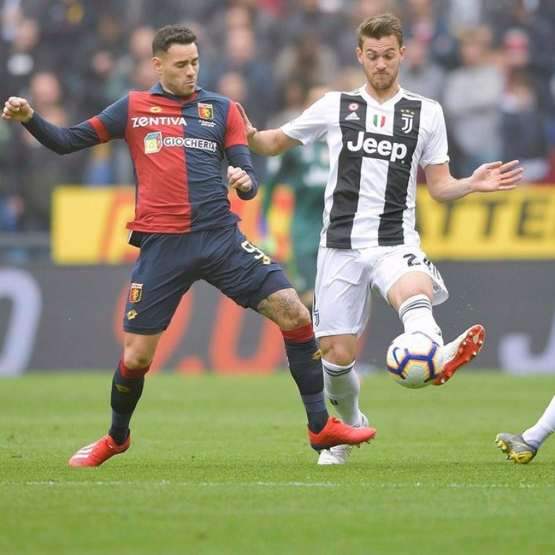 Shirt Worn by Sanabria for the Genoa-Juventus Match