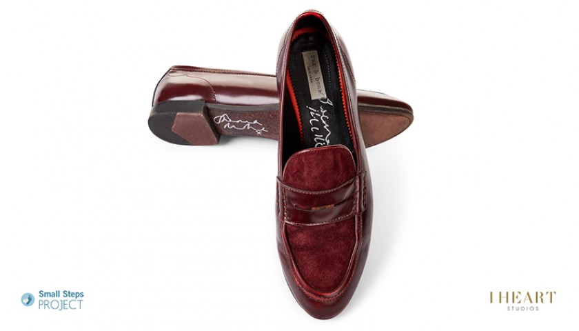 Sienna Miller Signed Shoes