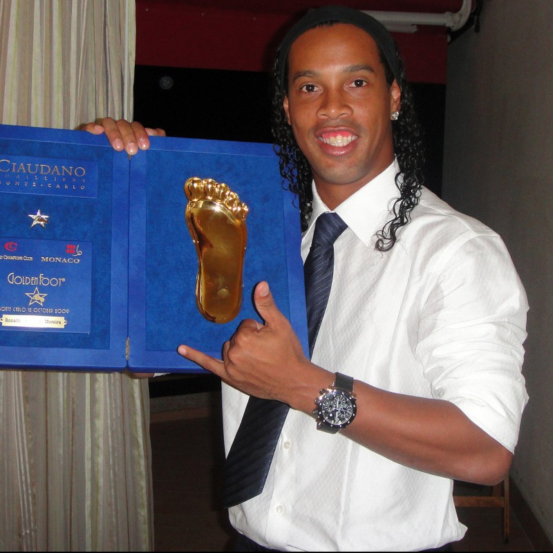 Golden Foot Gala Dinner and Night at Hotel Fairmont in Monte Carlo