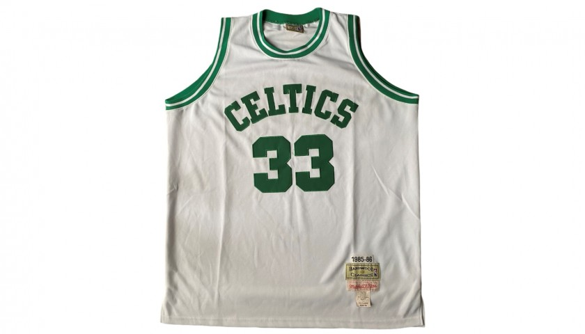 Larry Bird's Official Boston Celtics Jersey - Signed by the Legends
