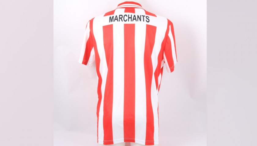 Cheltenham Town Official Poppy Shirt Signed by the Team