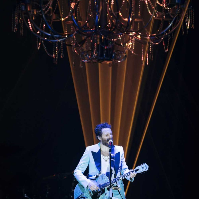 "Prop Chandelier from the Jovanotti's Tour ""Lorenzo Live 2018"""