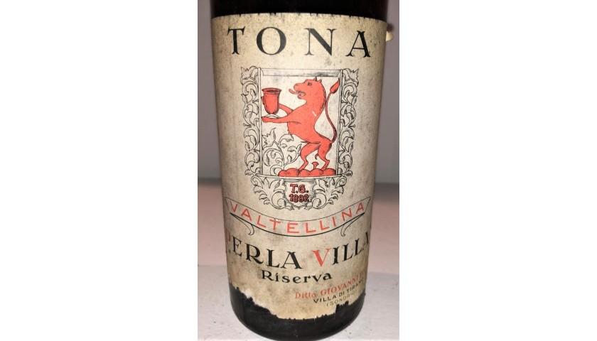 Bottle of Valtellina Perlavilla, 1956 - Tona 1892