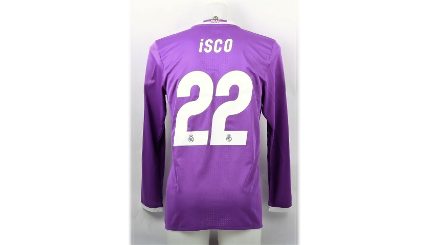 Isco's Match Shirt, Juventus-Real Madrid, Cardiff Final 2017