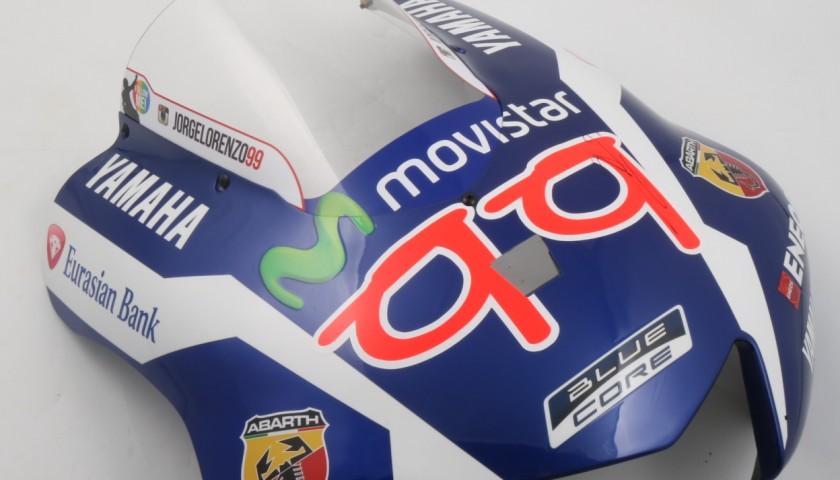 Cupolino Yamaha Movistar YZR-M1 2016 di Jorge Lorenzo #99, autografato