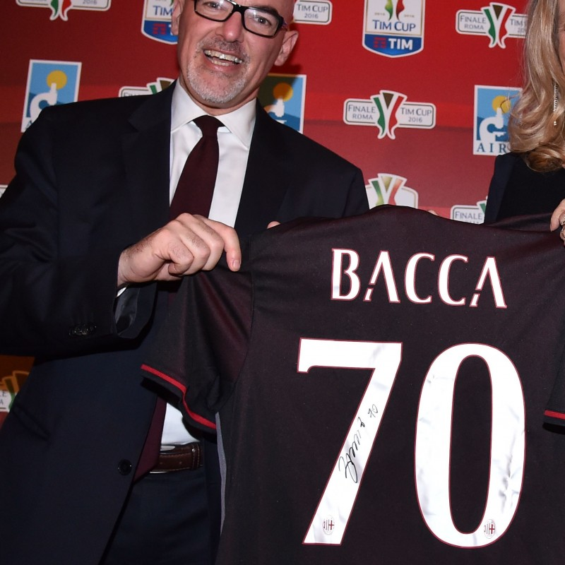Official Bacca Milan shirt, Serie A 2016/2017 - signed